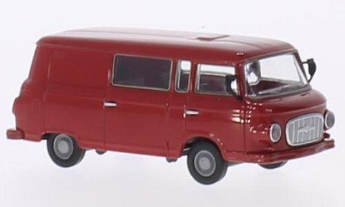 Preisvergleich Produktbild Barkas B 1000 Halbbus, rot, Modellauto, Fertigmodell, Brekina 1:87