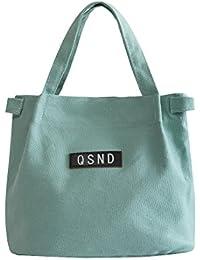 ISuperb Canvas Casual Handbag Shoulder Bag Totes Purses For Ladies Girls Women
