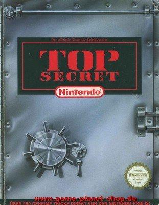 Top Secret SNES über 250 geheime Tricks Lösungsbuch Für Super Nintendo LBdg
