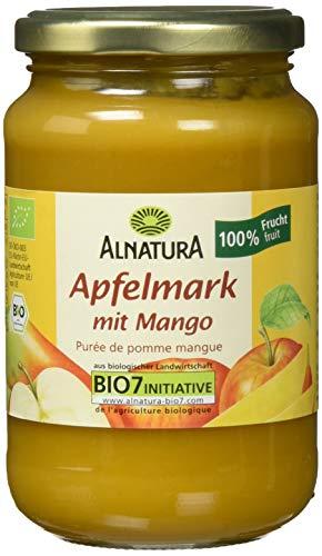 Alnatura Bio Apfelmark mit Mango, vegan, 6er Pack (6 x 360 g)