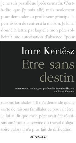 Etre Sans Destin [Pdf/ePub] eBook
