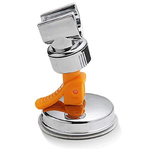 Heaviesk Durable Bad-Accessoires mit Vakuum-Saugnapf Duschkopf Halter Kopf Haken Dusche drehbare Halter Halterung (Halter Duschkopf Halterung)