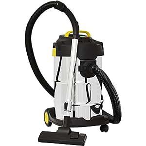 Syntrox Germany 2000 Watt 30 Liter Selbstreinigender Staubsauger Edelstahl Industriesauger