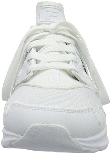 Fila Fleetwood Low, Sneakers basses homme Weiß (Bright White/Bright White)
