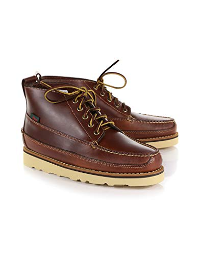 GH Bass Camp Moc III Ranger Pull Up Boots 42 EU Dark Brown Leather Camp Moc