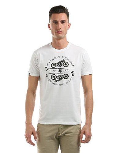 Hot Buttered Shirt de Sport - Homme Blanc Blanc M