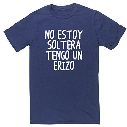 HippoWarehouse No Estoy Soltera Tengo Un Erizo camiseta manga corta unisex