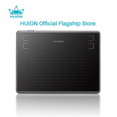 Huion H430P OSU Graphics Tablet with 4096 Pen Pressure and 4 Shortcut Keys (H430P)