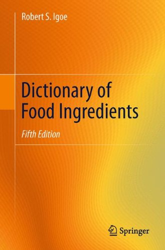 Dictionary Ingredient (Dictionary of Food Ingredients)
