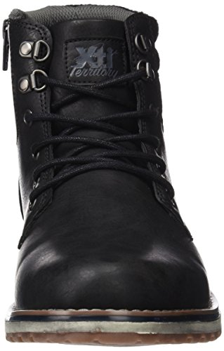 Xti 047094, Bottines homme Noir (Black)