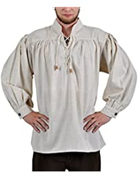 Rol en vivo - Camisa medieval - Adalbert - color natural