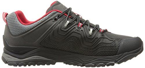 Keen Aphlex, Chaussures de Randonnée Basses Homme BLACK/TANGO