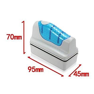 Hilai Magnet Aquarium Reiniger Algen Kratzer für GlasAquarien Wasser Algen Reinigung FischBehälter GlasReiniger Scrubber Schwimmen saubere Bürste