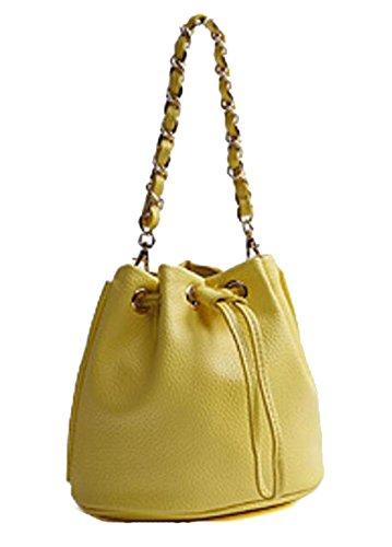 Mme Pu Mini Sac yellow