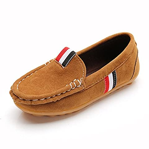 Eagsouni® Boy's Girl's Casual Anti-Slip Loafers Flats Shoes (Toddler/Little Kid)