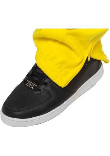 Urban Classics Damen Hose Loose Fit Sweatpants Gelb-5