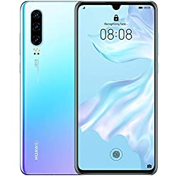 Huawei P30 128 GB 6.1 Inch OLED Display Smartphone with Leica Triple Camera, 6GB RAM, EMUI 9.1.0 Sim-Free Android Mobile Phone, Single SIM, Breathing Crystal, UK Version