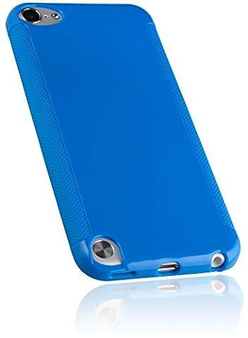 mumbi silicone TPU Coque iPod Touch 5G - Silicone Etui Housse Étui Protecteur iPod touch 5ème génération Case Bleu