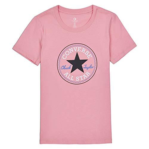 Nova Fashion Kostüm - Converse Damen Chuck Patch Nova Tee Costal Pink 10017759-a02-651 - Pink - Mittel