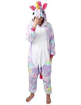 chuangminghangqi Kigurumi Pigiama Unisex Adulto Cosplay Costume Attrezzatura Animale Camicie da Notte Carnevale...