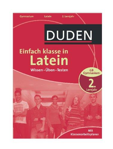 Duden - Einfach klasse in - Latein 2. Lernjahr: Wissen - Üben - Testen - Bild 1
