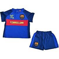 Conjunto bebé Barca – + Short – Camiseta oficial FC Barcelona 4256de1b2867b