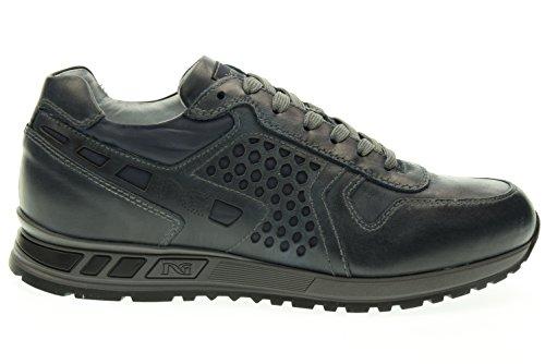 Jardines De Hombre 200 Zapatillas Bajas Deporte Blu A604350u Negro rdrIwqz