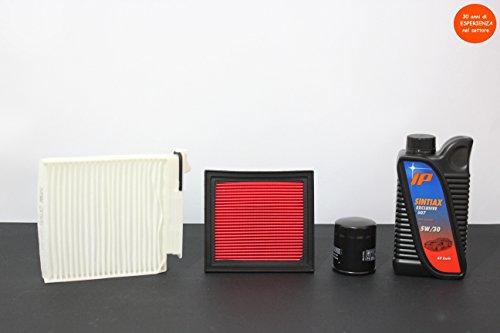 tagliando-filtri-4-lt-olio-nissan-note-14-65-kw-88-cv-motore-cr14de-da-03-2006-in-poi