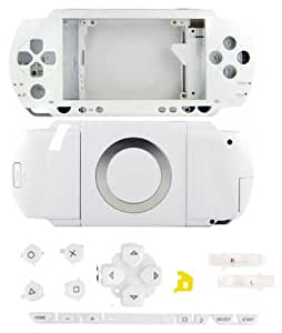 Faceplate and Button Kit for PSP Model 1000 [WHITE]