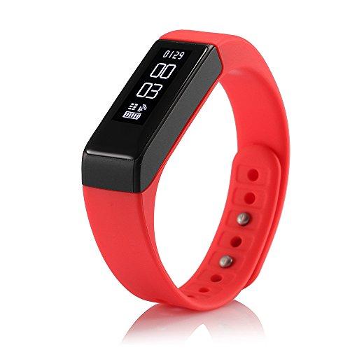 ROGUCI-Podmetro-Reloj-Pulsera-de-Monitorizacin-TouchscreenBrazalete-Inteligente-DigitalDeportiva-Smartwatch-OLED-IP67-Impermeable-Bluetooth-Monitor-de-Sueo-de-Caloras-de-Actividad-de-ControlCompatible