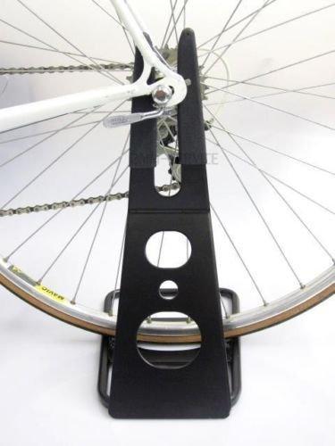 Fahrradständer Halter Halterung Ständer Fahrradhalter Schwarz Gummiert Neu / Fahrrad Ständer für 26-28 Zoll Räder / Lachschönende und gummierte Aufnahme / Sehr stabile und hochwertige Ausführung / NEU Service2MM