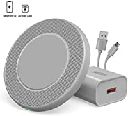 CHOETECH Fast Wireless Charger Zinc Alloy