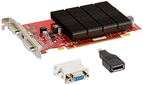VisionTek ATI Radeon HD 5450 Grafikkarte (512 MB DDR3, PCI-Express, 2 x DVI, 1 x Mini Display Port) -
