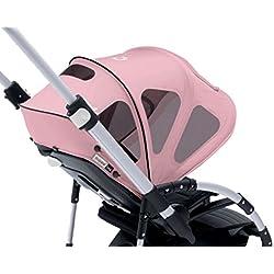 Bugaboo - Capota ventilada para silla de paseo Bugaboo Bee, Rosa (Soft Pink)