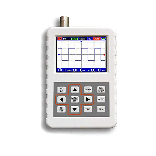 Single-channel-speicher (Handheld Digital Storage Oscilloskop, 5M Bandbreite 20MSps Mini Portable (Single channel)16MB Memory Storage, Color TFT LCD Display Test Meter, DSO FNIRSI PRO)