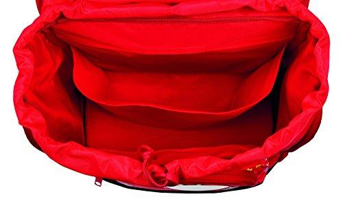 Undercover MHRZ7804 - Kinderhandtasche Monster High, ca. 33 x 23 x 10 cm Schulrucksack Set Twixter, 4 teilig