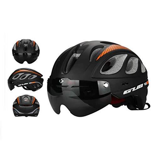 ZLK Fahrradhelme Radfahren Fahrradhelm Mit Brille Brillen Multifunktionale Ultraleicht Sicherheit Mountain Road Racing Fahrradhelm