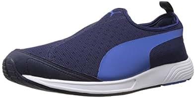 Puma Men's FTR TF-Racer Slip-on Peacoat-Strong Blue Mesh Running Shoes - 13UK/India (48EU)
