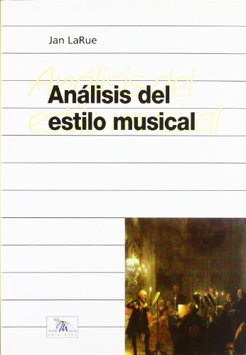 Descargar Libro Analisis del estilo musical (Musica (idea)) de Jan Larue