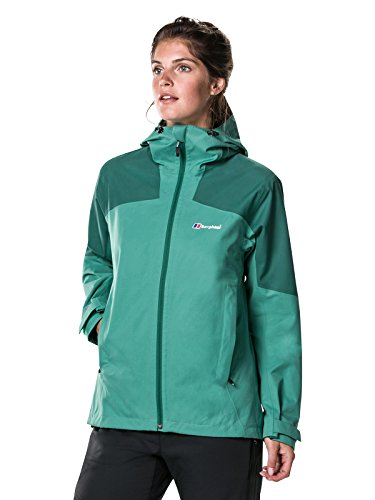 Our number one pick for women is this Berghaus Women's Fellmaster Gore Tex Waterproof Shell Jacket. This is made to keep you dry and comfy in all weathers, whether you're walking across the tallest hilltops or briskly taking a coastal stride and is a great choice for the ladies.