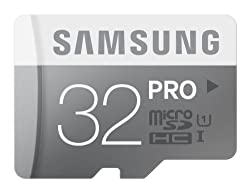 Samsung Pro 32GB UHS-1 class 10 micro sdhc Memory Card Upto 90 Mbps speed with adapter