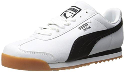 Puma - Herren Roma Basic-Schuhe Weiß / Schwarz