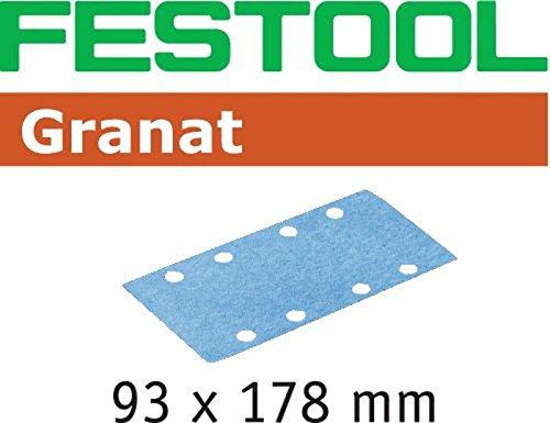 Festool 498935 - Hoja lijar STF 93X178 P80 GR/50