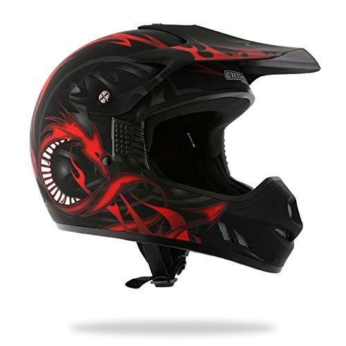 AMX amxdragonnm - Casco de motocross (talla M)