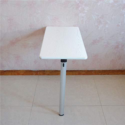 t Tisch Wand Klapp Schreibtisch Küche Esstisch Computer Workstation Kinder Studie Veranstalter Tisch nach unten, 74 × 40 × 74 cm (Farbe : Weiß) ()