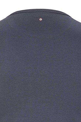 Aeronautica Militare Herren Shirt T-Shirt Luca Melange Grey