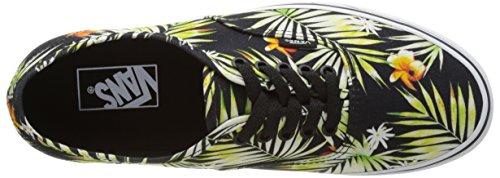 Vans UA Authentic, Scarpe da Ginnastica Basse Uomo Nero (Decay Palms)