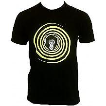 T-shirt da uomo nero Ticila VIP STAR DJ APE MONKEY Neon vers pulpito Club wear Scratch Start Club House technikus iony Unit cuffie Superstar 24 Ore turn table G Set mybohi