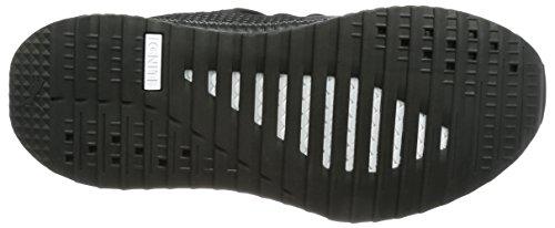 Puma Tsugi Shinsei Raw Herrenschuhe in Schwarz Einfarbig Elastischen Stoff 363758-01 Black