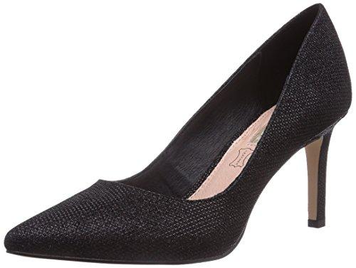 Buffalo Shoes H733-C002A-4 P1855A, Damen Pumps, Schwarz (BLACK 01), 38 EU